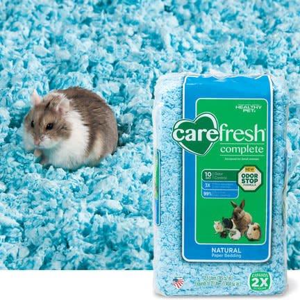 carefresh blue bedding